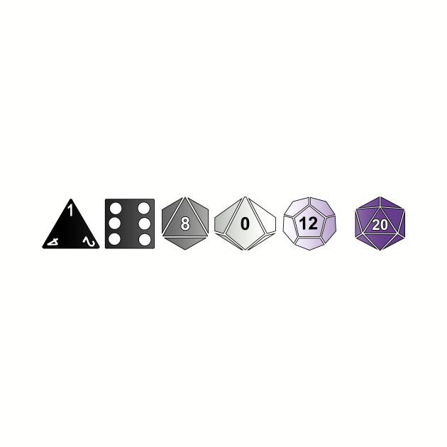 Ace Pride Polyhedrals