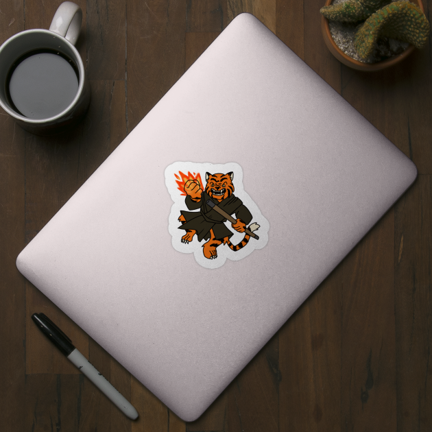 Tabaxi Monk Tabaxi Sticker Teepublic The tabaxi's ability score increases are perfect for a bard, regardless of your choice of college. tabaxi monk