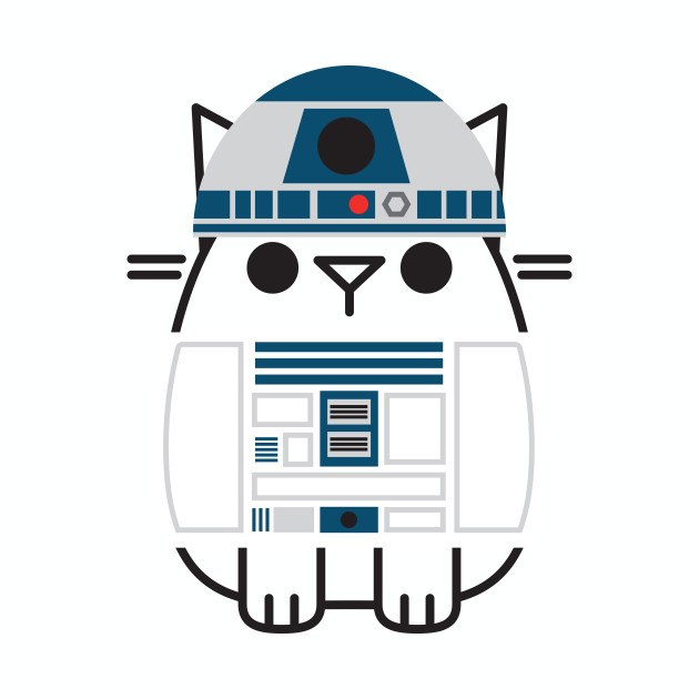 Paws the Cat - R2D2
