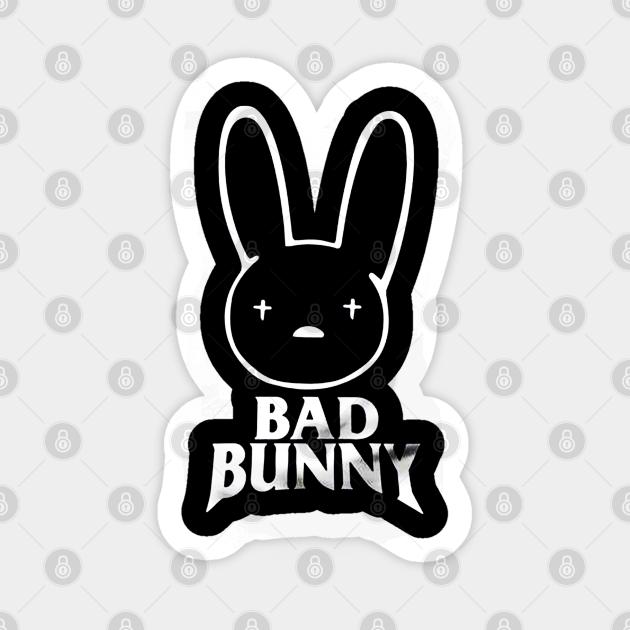 Bad Bunny Logo Bad Bunny Logo Aufkleber Teepublic De Bad bunny logo sketch #1. bad bunny logo