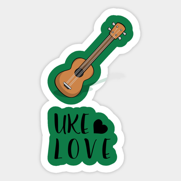 Mahalo and Aloha Hawaiian Acoustic Ukulele Uke Love