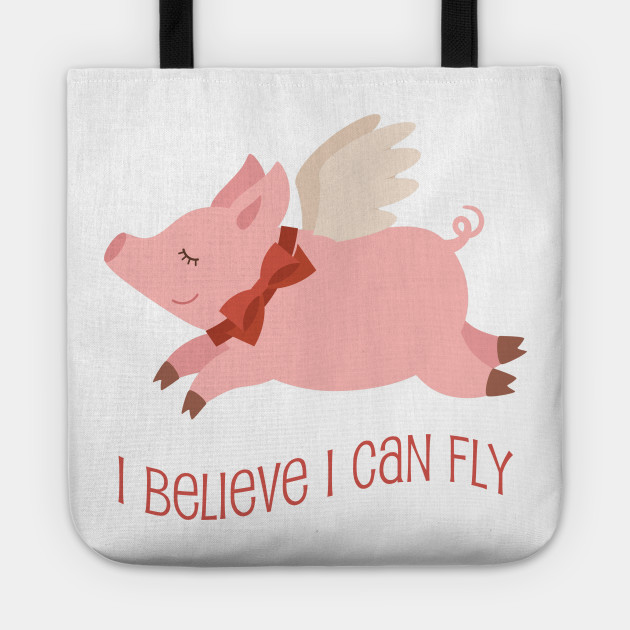 Flying Pig Inspirational - Flying Pig - Tote  7023e4709d17b
