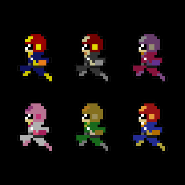 8-Bit Melee Captain Falcon