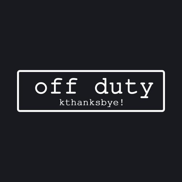 No. 1 Off Duty Ed.2