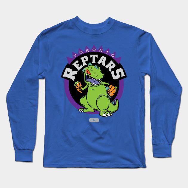 e17bb576e40 Toronto Reptars - Reptar Rugrats - Long Sleeve T-Shirt | TeePublic