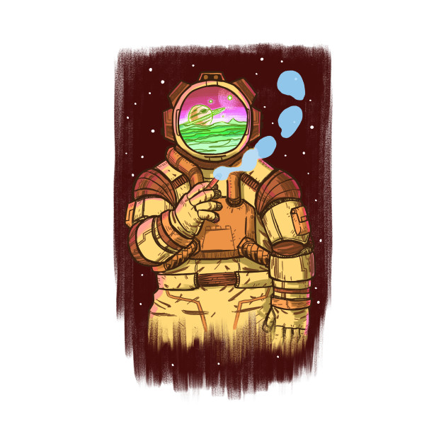 Spaceman Yellow
