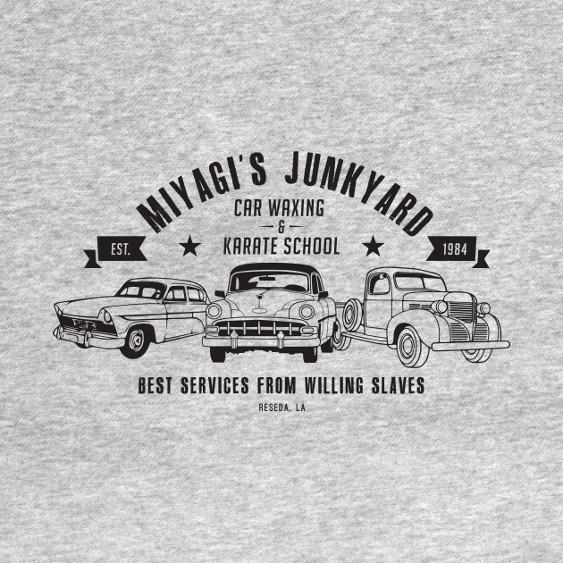 Miyagi's Junkyard T-Shirt