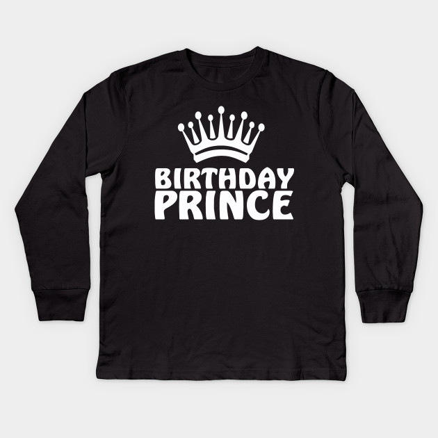 Prince Boys T Shirt Kids T-Shirt Perfect Gift Birthday Present