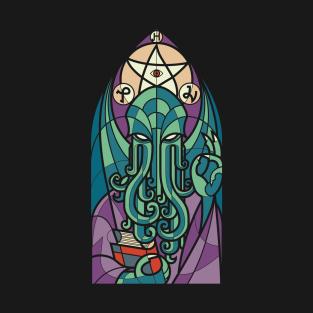 Cthulhu's Church t-shirts