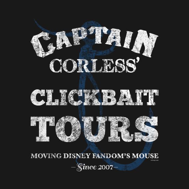 Captain Corless' Clickbait Tours - WDWNT.com