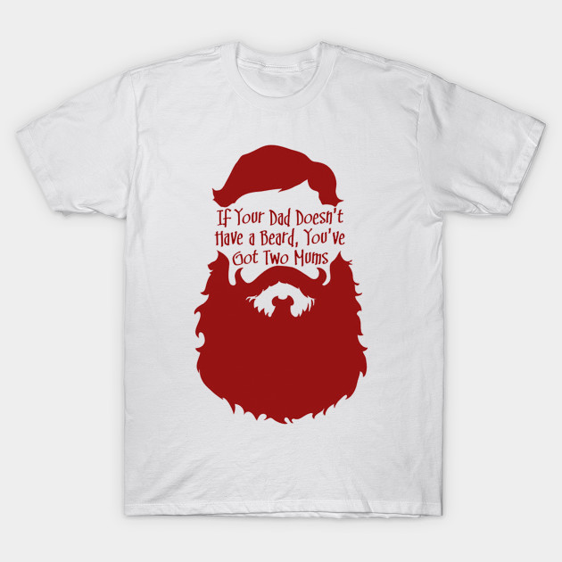 5bebd04a Bearded Father - Bearded Dad - T-Shirt | TeePublic