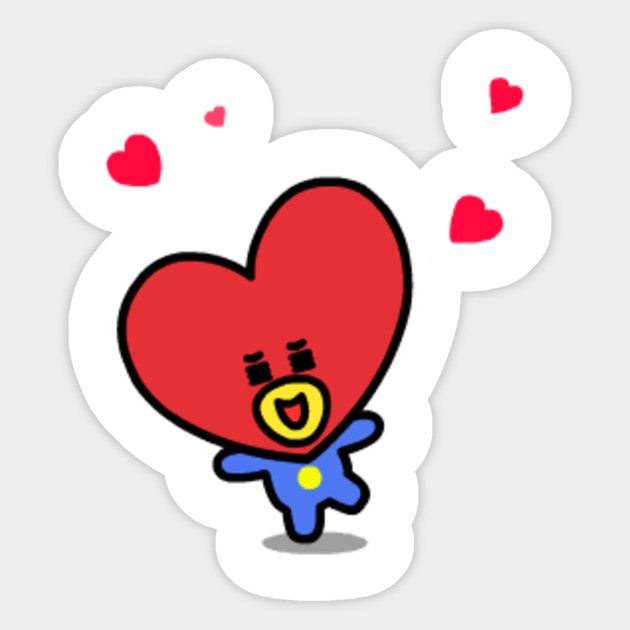Tata Bt21 Sticker Teepublic
