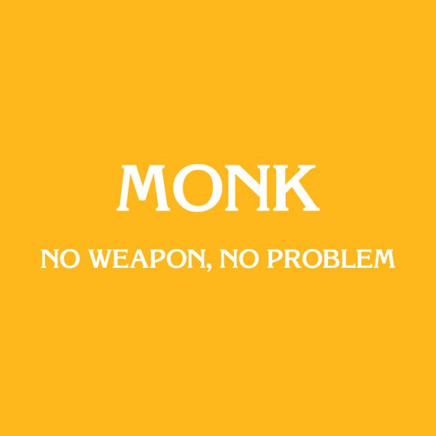 D&D: Monk (No Weapon)