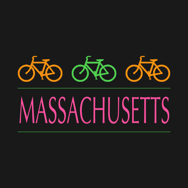 MASSACHUSETTS Neon Bicycles