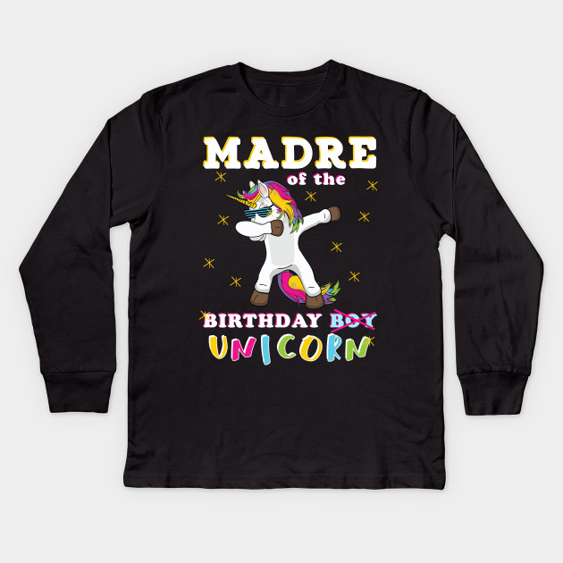 4c700acb Dabbing Unicorn matching birthday gift for whole family Madre of the  Birthday Boy Bday Party Gift ...
