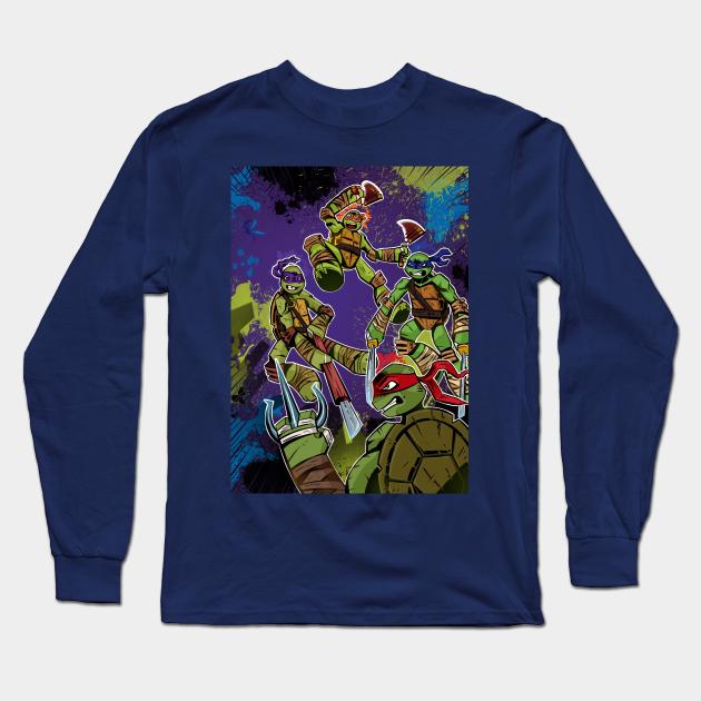 Boys Teenage Mutant Ninja Turtles Class of 2012 TMNT High Long Sleeve Shirt