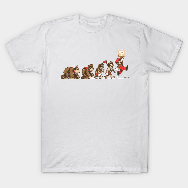 8-Bit Evolution T-Shirt-TOZ