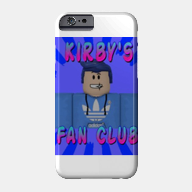 Kirby S Fans Roblox Coque Pour Telephones Teepublic Fr