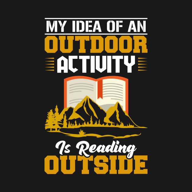 Outdoor Activity Is Reading Outside