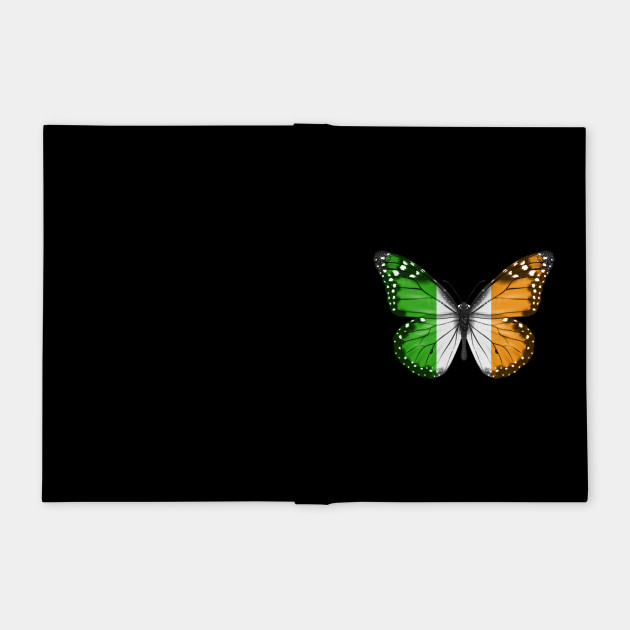 Irish Flag  Butterfly - Gift for Irish From Ireland