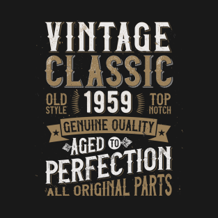 166903774 60 Years Old T-Shirts | TeePublic