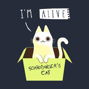 6bc03c5a157ac Schrodingers Cat T-Shirts