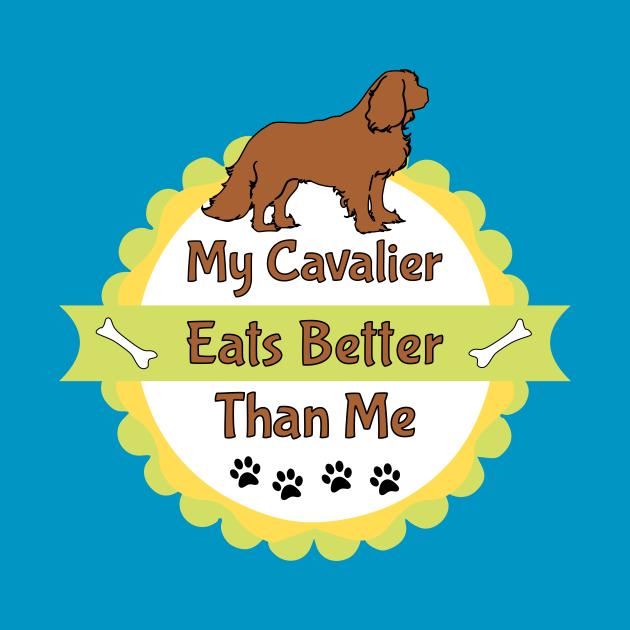 My Cavalier (Dog) Eats Better Than Me