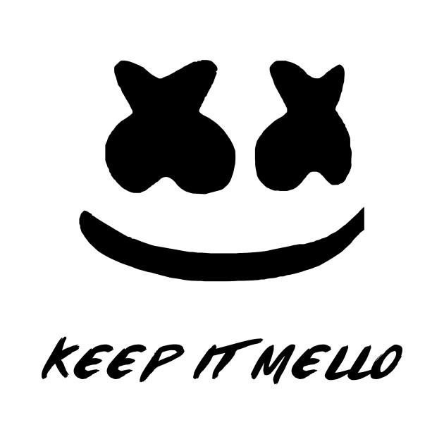 Marshmello Keep it Mello - Night - T-Shirt | TeePublic