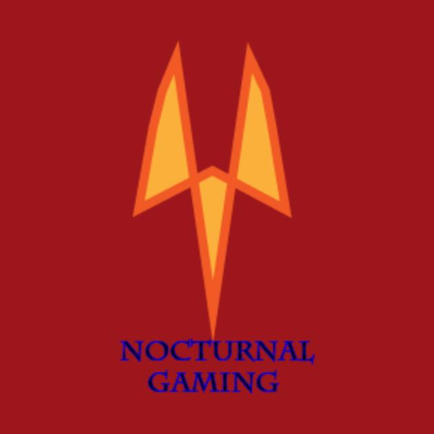 Image of: Metal Nocturnal Logo Design Nocturnal Logo Design Nocturnal Audio Nocturnal Logo Design Gaming Kids Tshirt Teepublic
