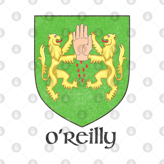 O'Reilly / Faded Style Family Crest Design