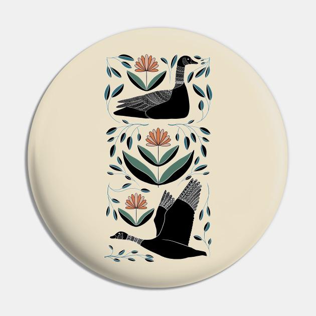 Folk Art Inspired Canadian Geese