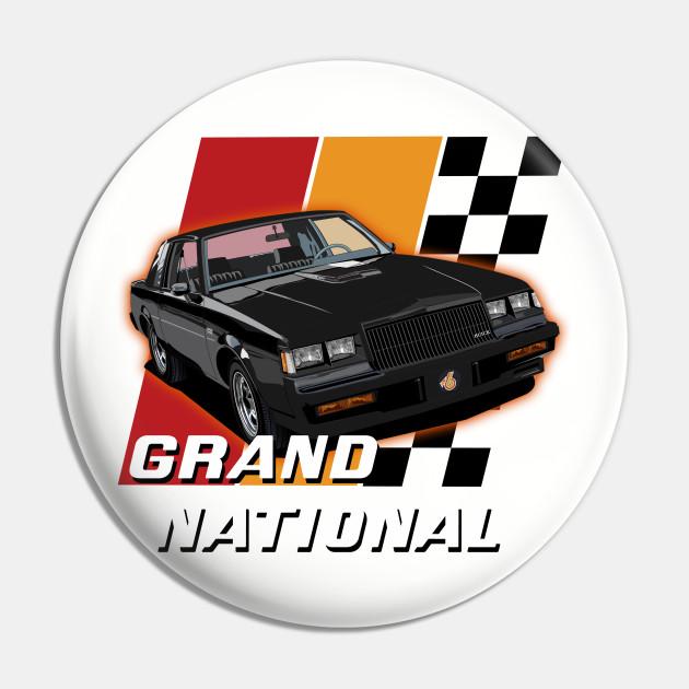 1986 Buick Grand National Muscle Car Art Print