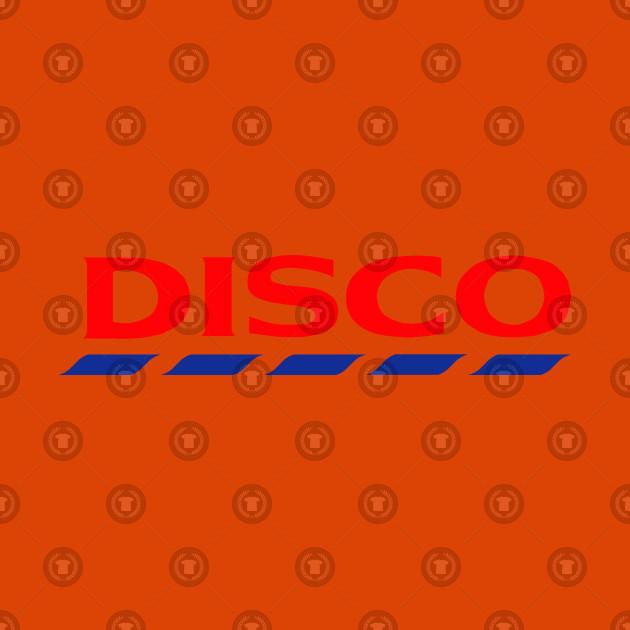 Disco Logo Funny/Parody Tee