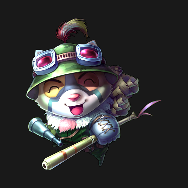 League Of Legends - Teemo Black