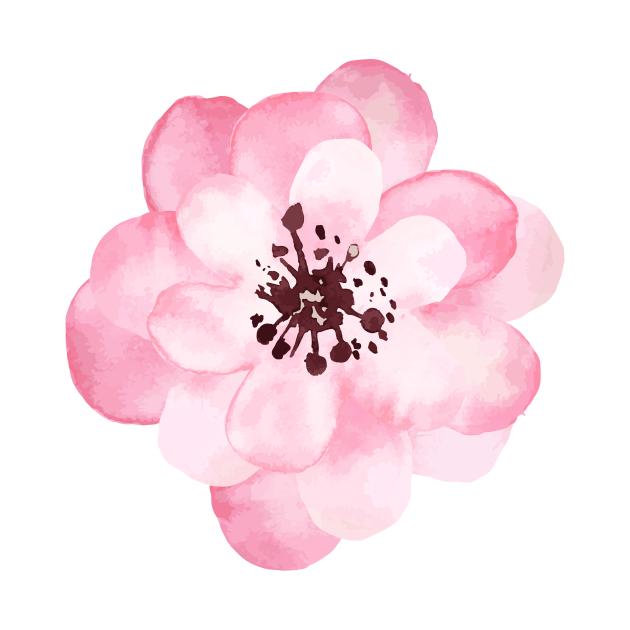 Watercolor Handrawn Rose 🌹