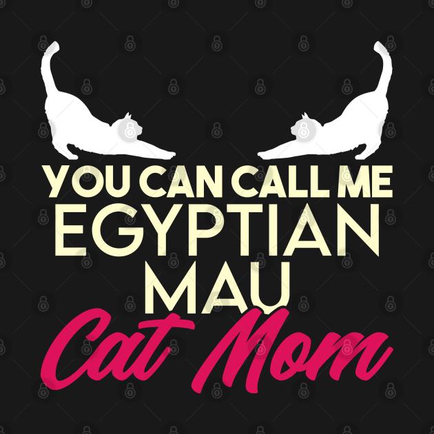 Egyptian mau cat mama breed