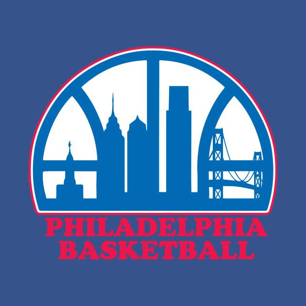 Philadelphia Basketball Logo Tee