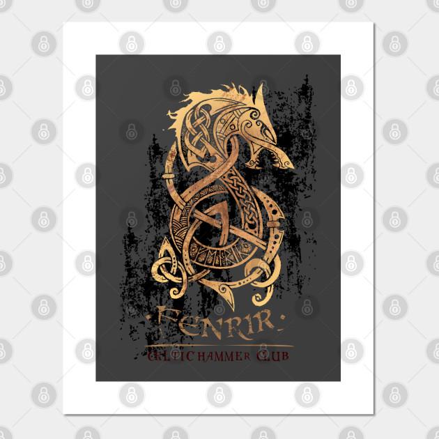 Fenrir: The Monster Wolf of Norse Mythology - Viking ...