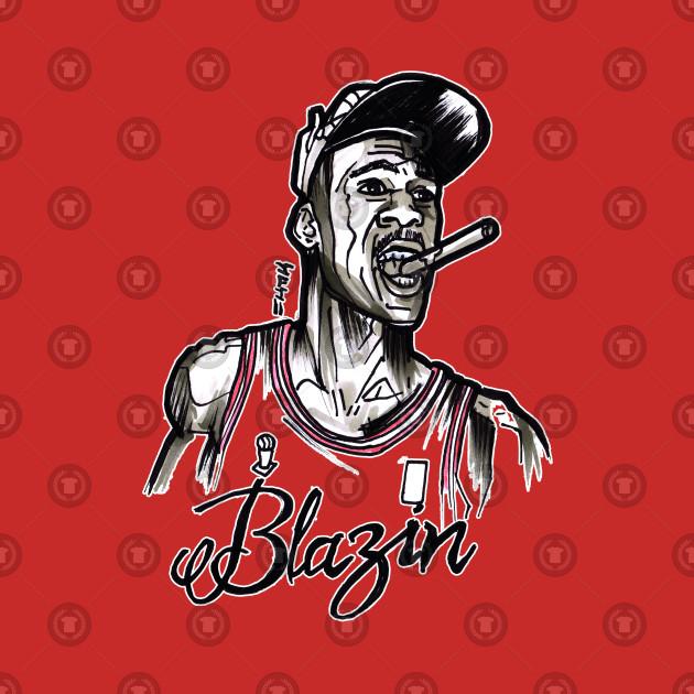 e8329eeed381 Michael Air Jordan Blazin - Michael Jordan - T-Shirt