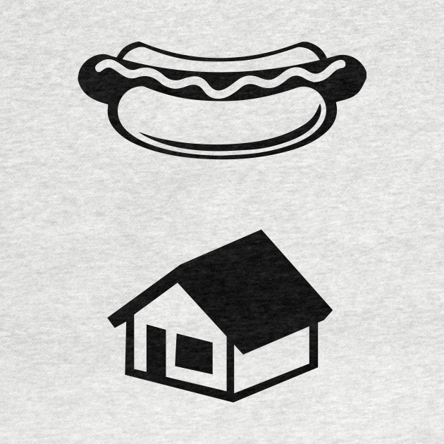 Kevin's Hot Dog Ghostbusters Logo