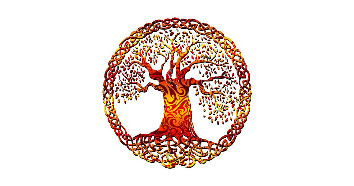 TREE OF LIFE - orange crush
