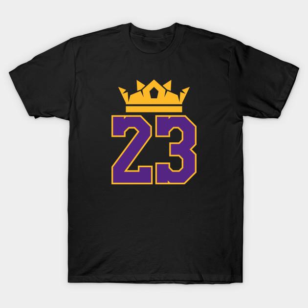 9e6aadb1cb1 King James Lakers 23 - Lebron James - T-Shirt | TeePublic