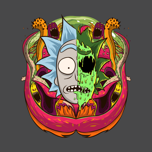 Rick and morty - Aliens