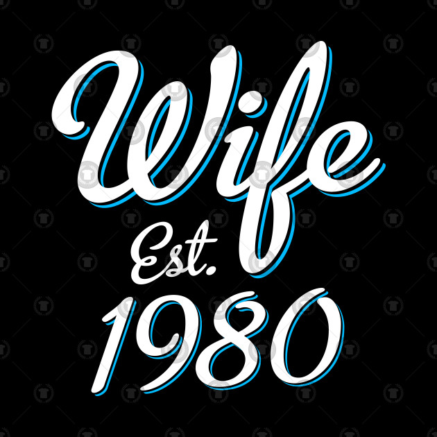 ... 38th Wedding Anniversary Gift Wife Est. 1980