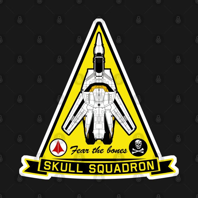 Skull Squadron TriPatch