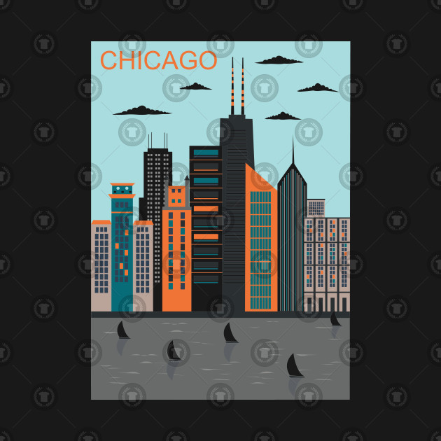 Stylized Chicago City