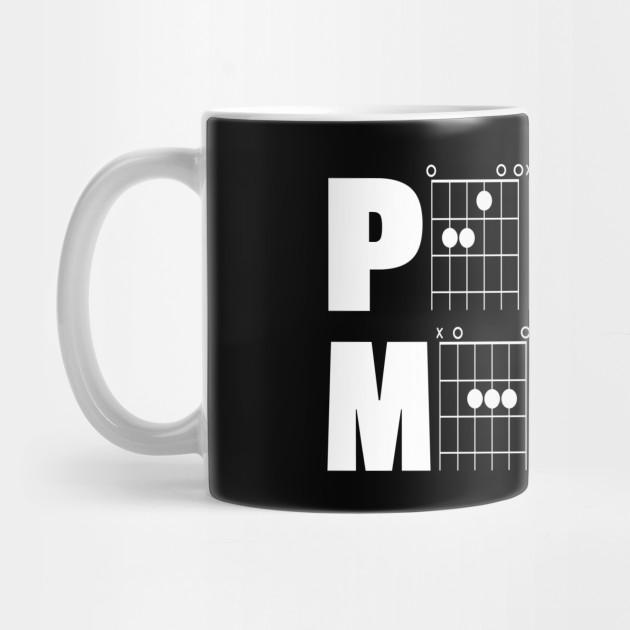 Peace Maker in Guitar Chords - Guitar Chord - Mug | TeePublic