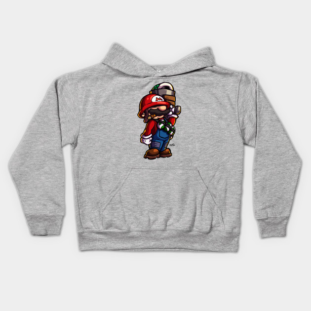 Combat Mario (for light color shirts)
