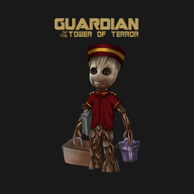 Guardian Of the Tower of Terror by Topher Adam 2017