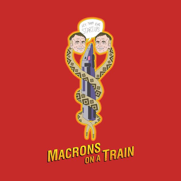 Macrons on a Train
